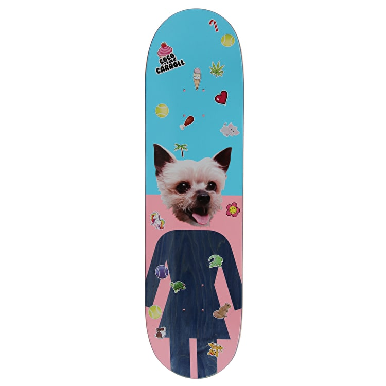 Girl Coco Skateboard Deck - Carroll 8.375""