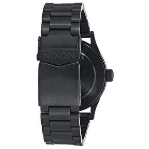 Nixon Sentry 38 SS Watch - Matte Black/Gold