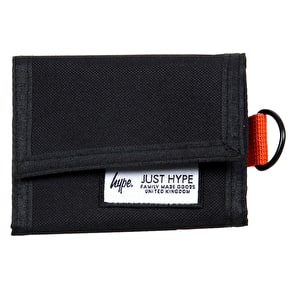 Hype Velcro Wallet - Black/Orange