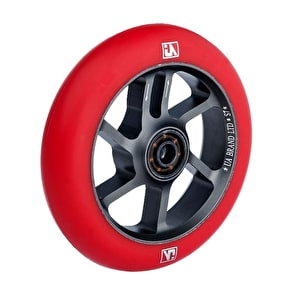 UrbanArtt S7 110mm Wheel - Titanium / Red