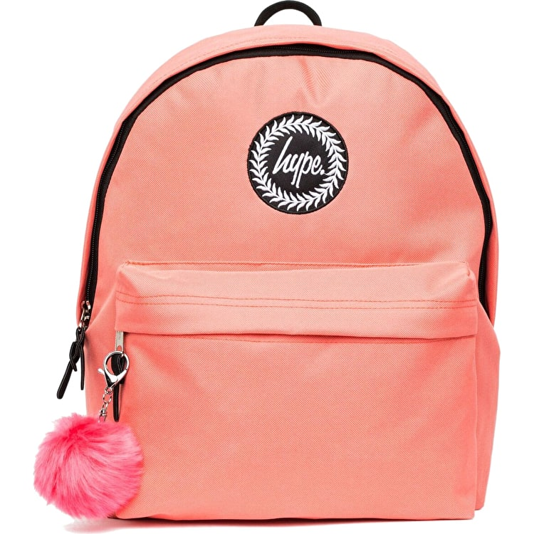 Hype Pom Pom Backpack - Peach