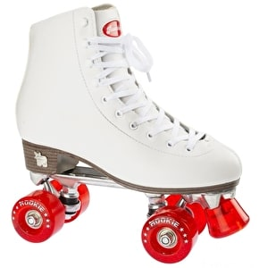 Rookie Classic Roller Skates - White / Red
