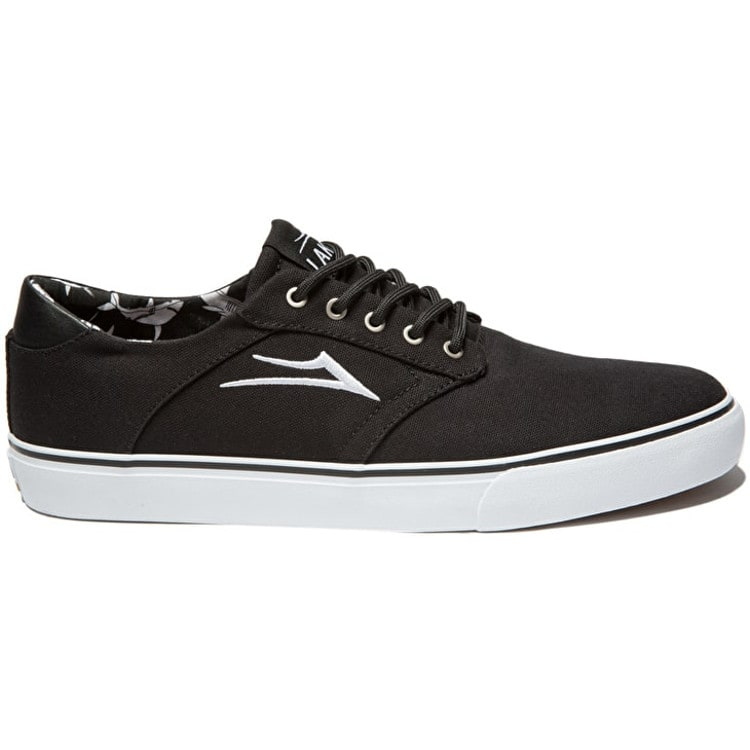 B-Stock Lakai Porter Skate Shoes - Black Canvas Size - UK 8 (Repackaged)