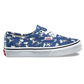 Vans x Peanuts Authentic Kids Shoes - Snoopy/Skating