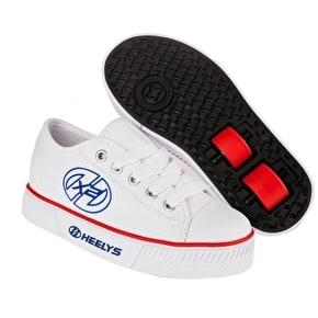 Heelys X2 Pure - White/Red/Blue UK Junior 13 (B-Stock)