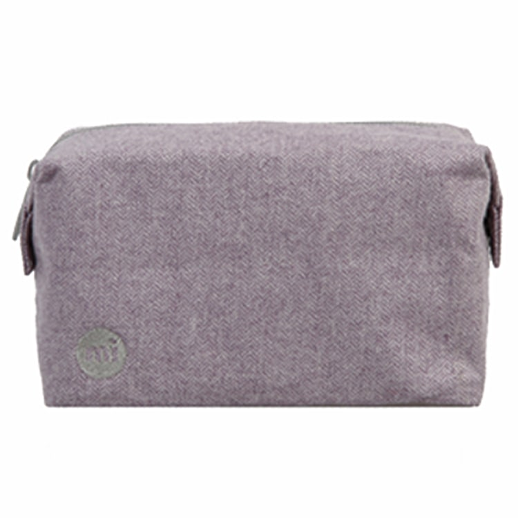Mi-Pac Wash Bag - Herringbone Lilac