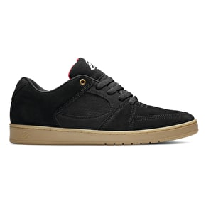 ES Accel Slim Skate Shoes - Black/Gum
