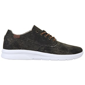 Vans ISO 2+ Shoes - (Acid Denim) Black