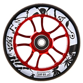 AO Enzo 2 110mm Wheel Incl Bearings - Red