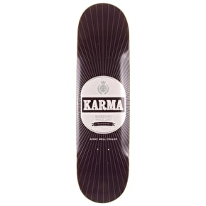 Karma Skateboard Deck - Beer - Purple - 8.375''