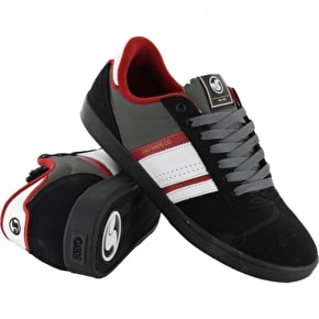 DVS Fulham Skate Shoes - Black/Grey Suede UK7 B-Stock