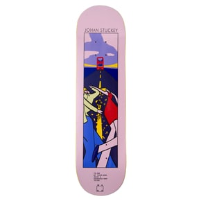 WKND Lyric Series Johan Skateboard Deck 8.5