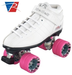 Riedell R3 Speed Skates - White