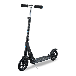 Micro Suspension Folding Commuter Scooter - Black