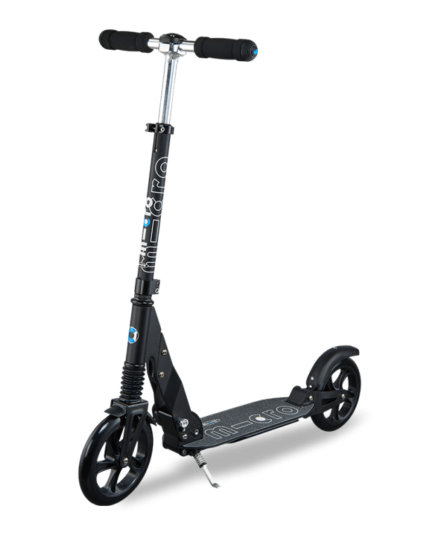 Micro Suspension Folding Commuter Scooter  Black