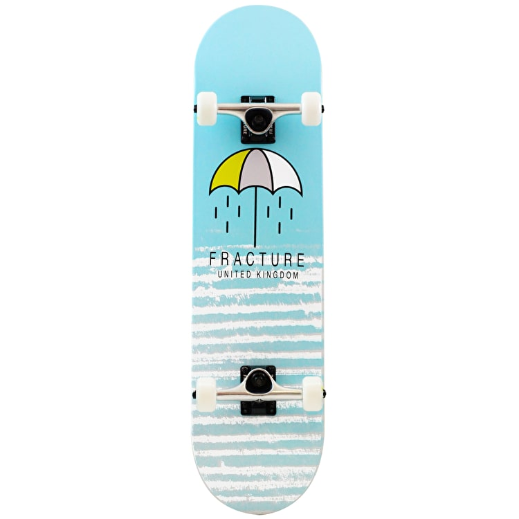"""Fracture Brolly Complete Skateboard - Blue 8"""""""