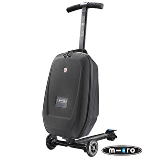 Micro 3-in-1 Luggage Scooter - Black