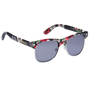 Glassy Sunhaters Shredder - Black/Floral