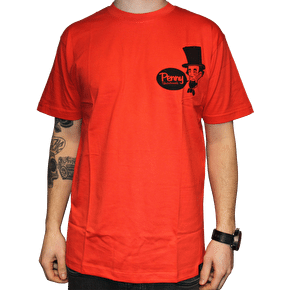 Penny Abe Lincoln T-Shirt - Red