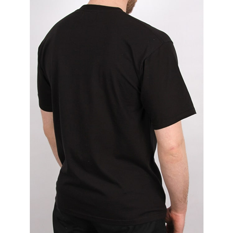Sour Solution Embroidered T-Shirt - Black