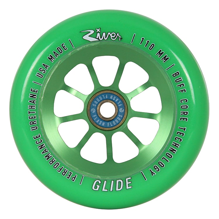 River Glide Emerald Pro 110mm Scooter Wheel