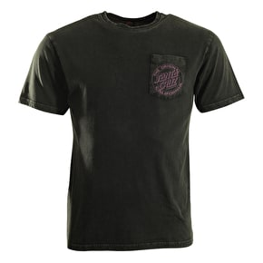 Santa Cruz T-Shirt - Mayhem Bleach Grey