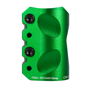 Chilli Pro Coil SCS Quad Bolt Clamp - Green