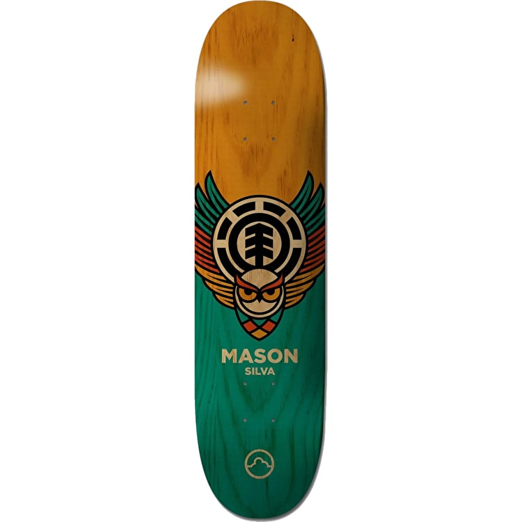 Element Owl Skateboard Deck - Mason 8.31""
