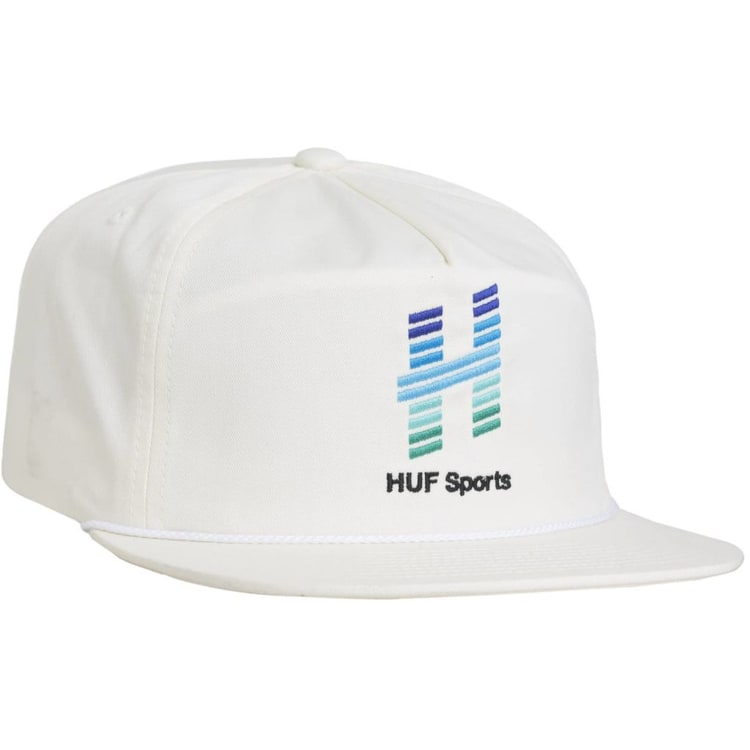 Huf Network Snapback Cap - Off White