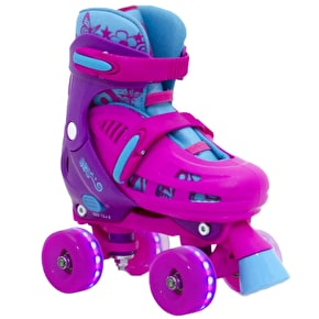 SFR Lightning Hurricane Light Up Quad Skates - Pink