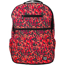 FUL Accra Backpack - Pink Digital Camo Print