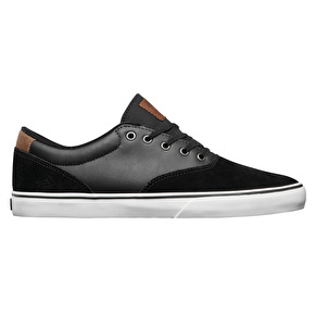 Emerica Provost Slim Vulc Skate Shoes - Black/Gum