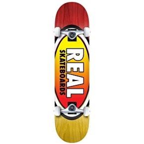 Real Oval Two Fades Complete Skateboard - 8