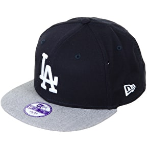 New Era Kids 9Fifty Snapback Cap - LA Heather/Navy