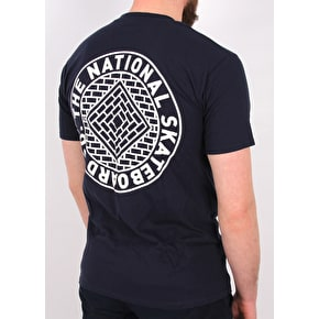 National Skateboard Co Union T-Shirt - Navy