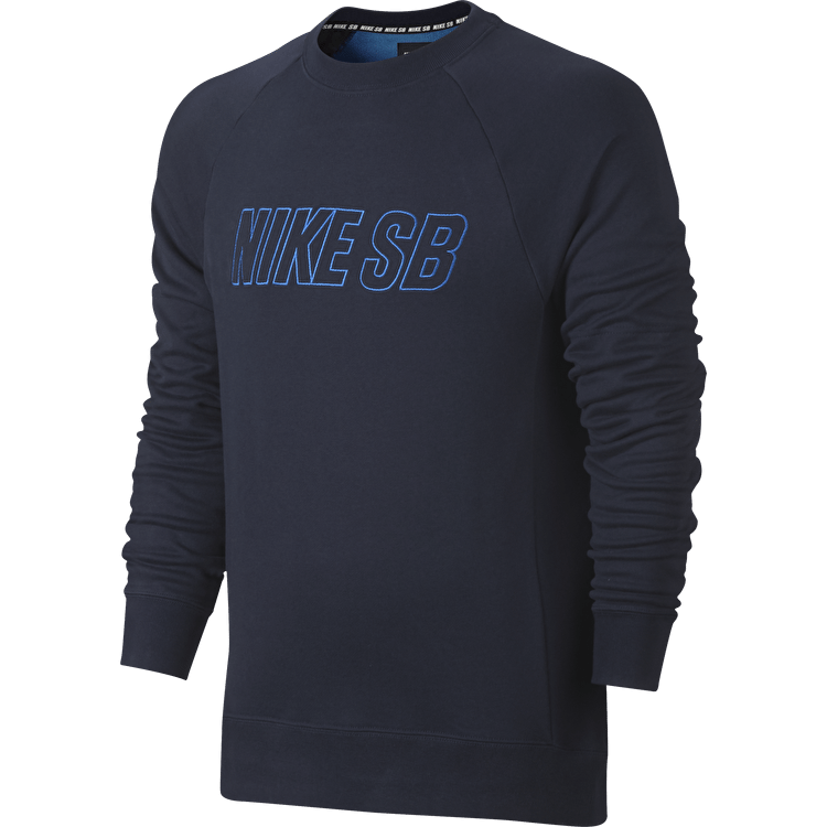 Nike SB Reveal Crewneck - Obsidian/Photo Blue
