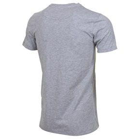 Hype Spray Script T-Shirt - Grey Marl