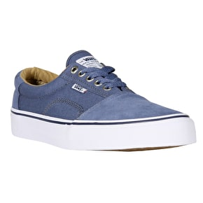 Vans Rowley Solos Skate Shoes - Indigo/White