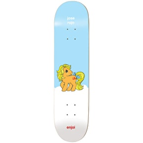 Enjoi My Little Pony R7 Skateboard Deck - Rojo 7.75