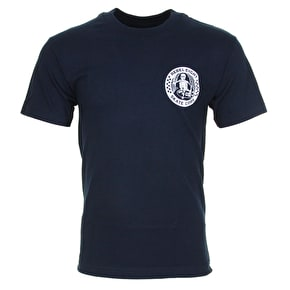 Rebel8 Skate Core T-Shirt - Navy