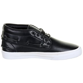 WeSC Lifestyle Ahab Shoes - Black Leather