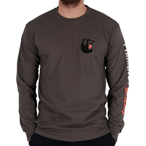 Primitive x Grizzly Bearhaus Longsleeve T-Shirt - Coral