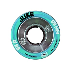 Atom Juke 59mm Alloy Quad Roller Derby Wheels-88A (4pk)