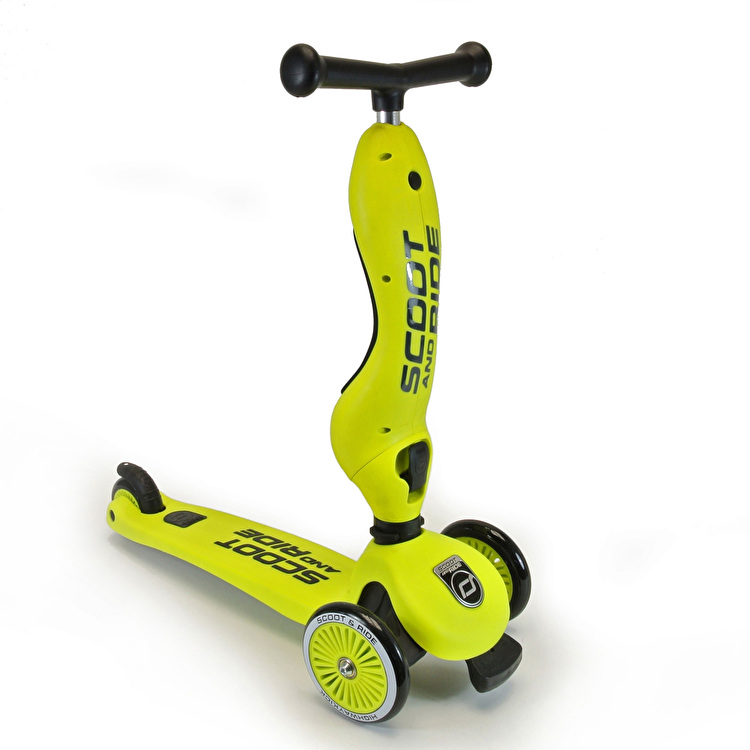 Scoot And Ride Highwaykick Complete Scooter - Lime