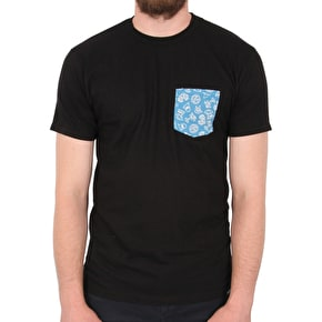 Etnies Good Times Pocket T-Shirt - Black