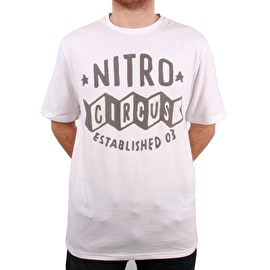 Nitro Circus Super Rivals T Shirt - White