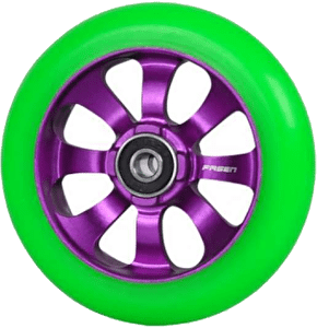Fasen 8 Spokes Wheel 110mm Purple Green