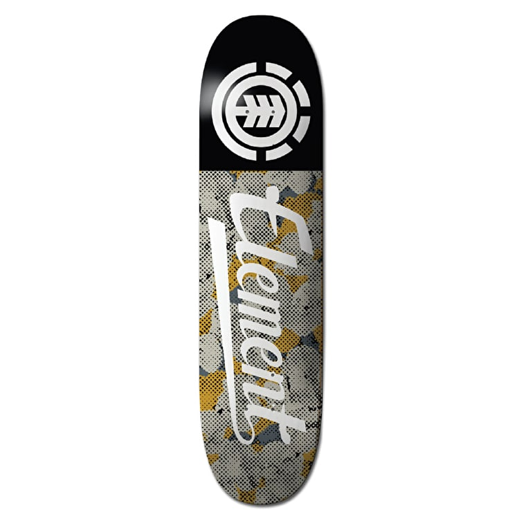 Element Skateboard Deck - Script Featherlight Pop Camo 8.25""