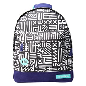 Mi-Pac x Moross Backpack - Tribal Black/White
