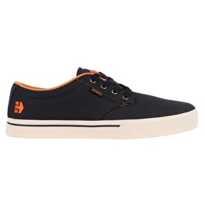Etnies Jameson 2 Eco Skate Shoes - Navy/Orange